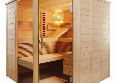 sauna alaska plus infra005