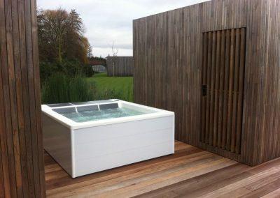 spa hidromasaje Lounge Concept III WhiteInox White