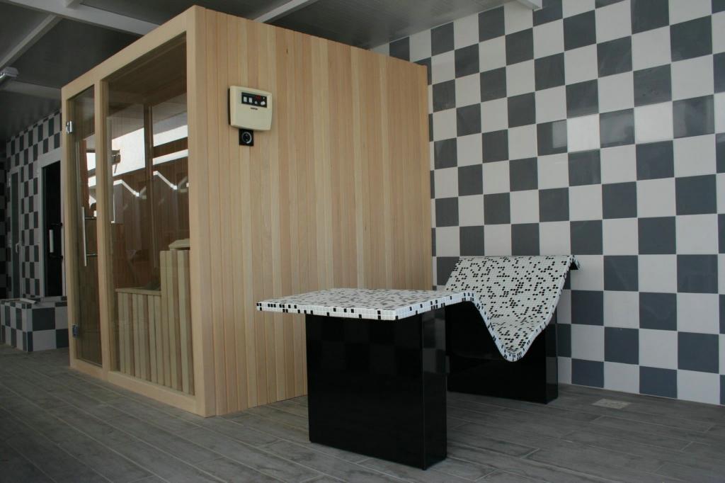 tumbona termica Sauna